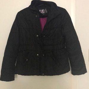 Junior's Krush black winter jacket